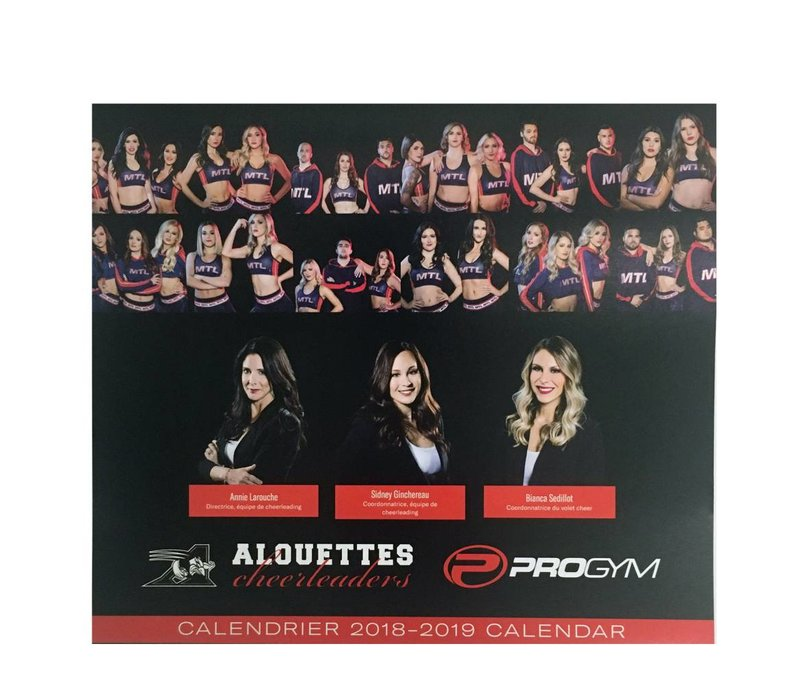 2018 CHEERLEADER CALENDAR