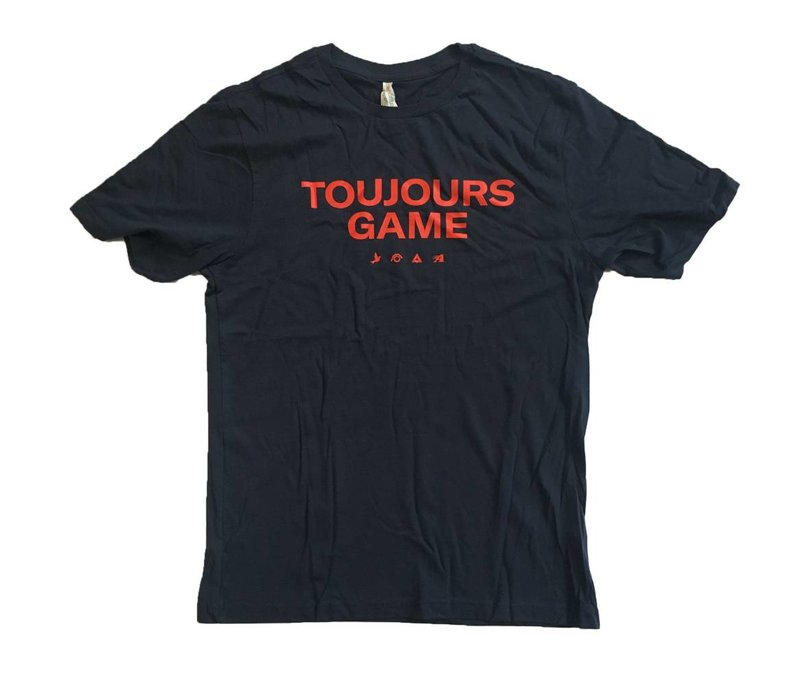 TOUJOURS GAME SHIRT...