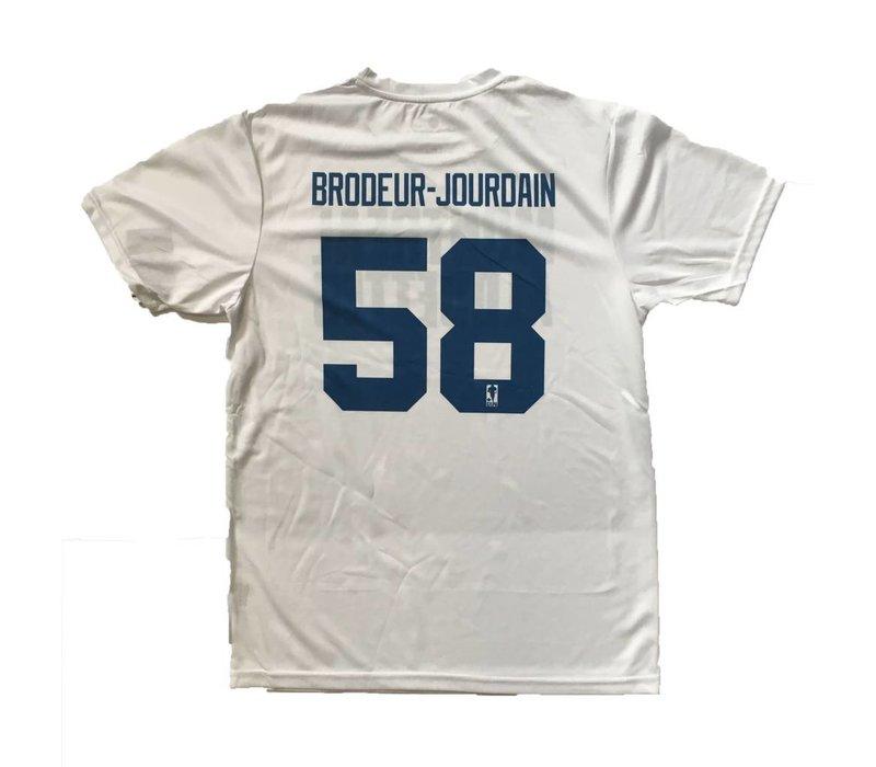 BRODEUR-JOURDAIN LOCKER ROOM SHIRT