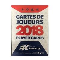 CARTES DE JOUEURS 2018