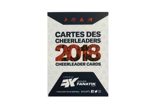AlsFC CHEERLEADER CARDS 2018