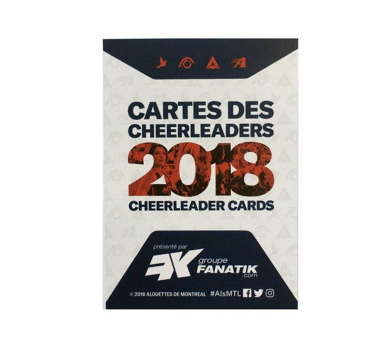 CHEERLEADER CARDS 2018