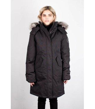 Toboggan Manteau d'hiver Femme Vanessa Silver | Vanessa Silver Woman Winter Coat