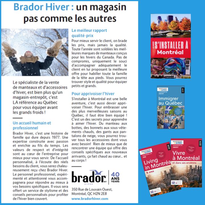 Brador Hiver : Partenaire et Conseiller de votre hiver au Canada