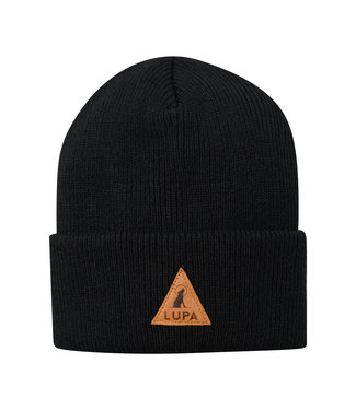 Lupa Tuque Retro Black | Canadian-made Retro Beanie Black