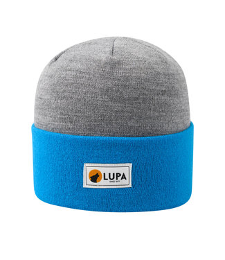 Lupa Tuque Bicolore Enfant Grey/Sky Blue | Canadian-made Kids Acrylic Beanie Grey/Sky Blue