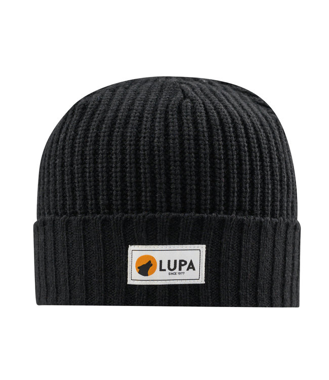 Lupa Tuque Enfant Froid Extreme Black | Canadian-made Kids Extreme Cold Beanie Black