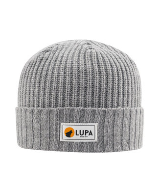 Lupa Tuque Enfant Froid Extreme Grey   Canadian-made Kids Extreme Cold Beanie Grey