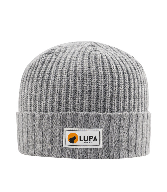 Lupa Canadian-made Kids Extreme Cold Beanie Grey