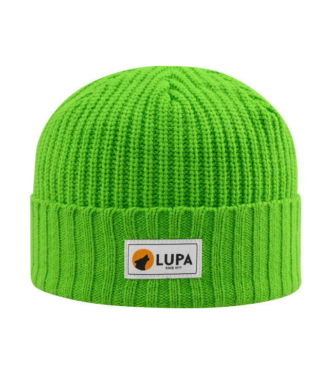 Lupa Tuque Enfant Froid Extreme Lime | Canadian-made Kids Extreme Cold Beanie Lime