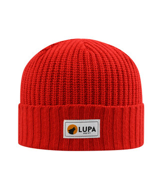 Lupa Tuque Enfant Froid Extreme Red | Canadian-made Kids Extreme Cold Beanie Red