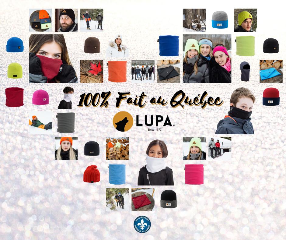 LUPA  : 100% Fait au Québec