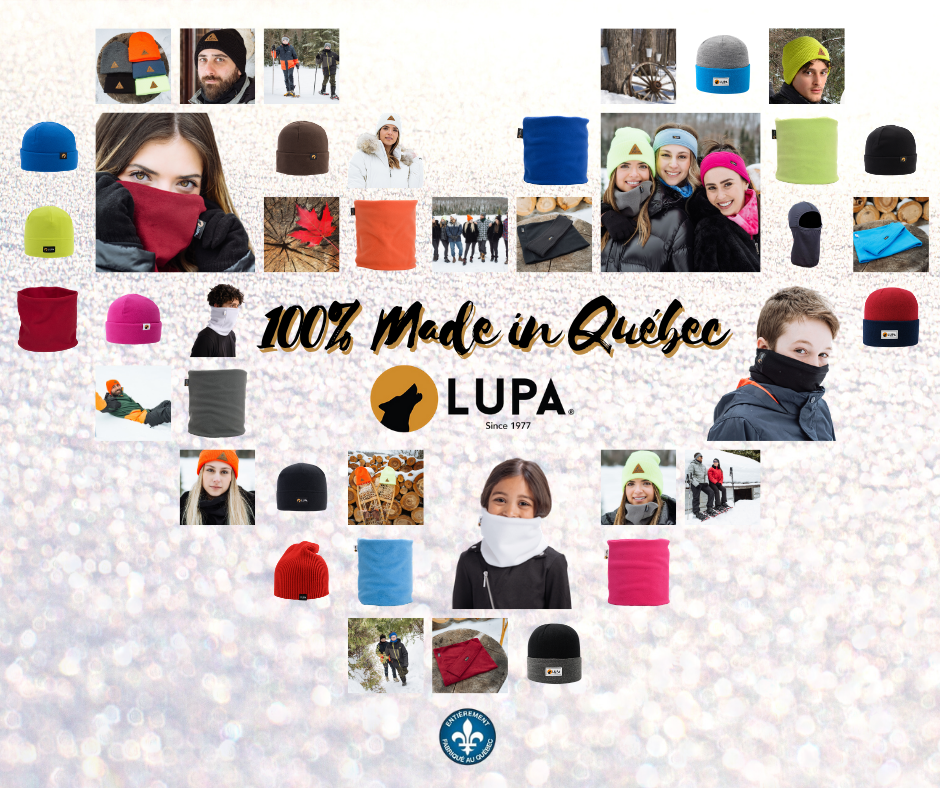 LUPA : 100% Made in Quebec