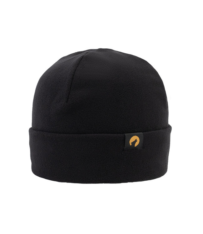 Lupa Heavyweight Fleece Beanie Kid Black