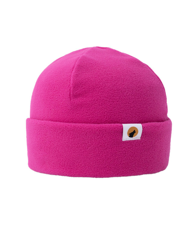 Lupa Heavyweight Fleece Beanie Kid Bright Pink