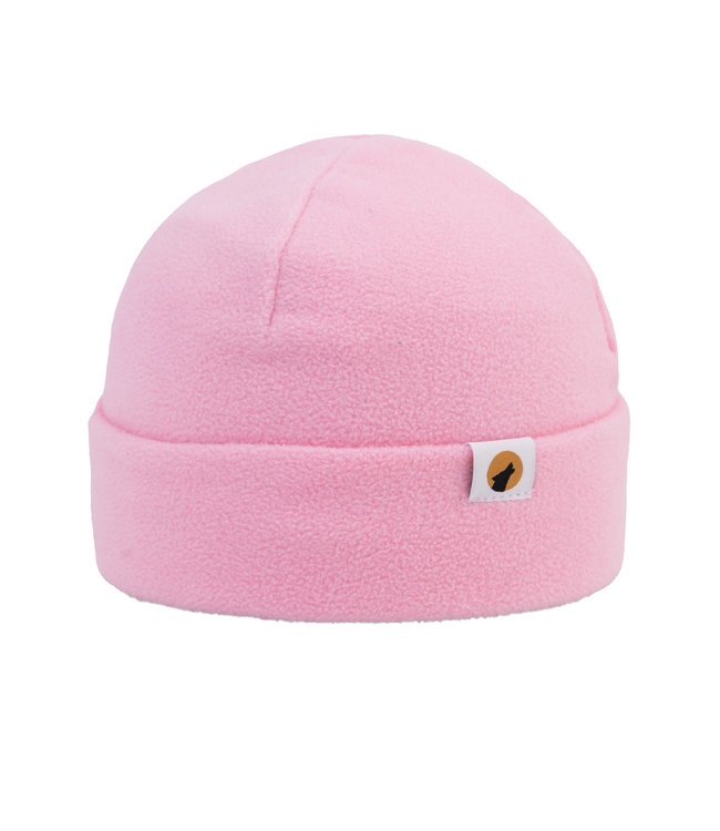 Lupa Heavyweight Fleece Beanie Kid Pink
