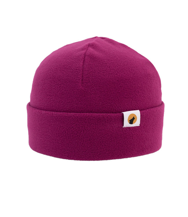 Lupa Heavyweight Fleece Beanie Adult Fuchsia