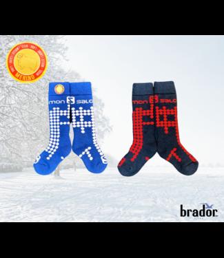 Salomon Bas de ski Enfants (2 PACK) | Kids Ski Socks (2 pack)