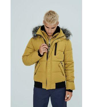 Noize Nixon Bomber Faux Plush Collar Winter Jacket