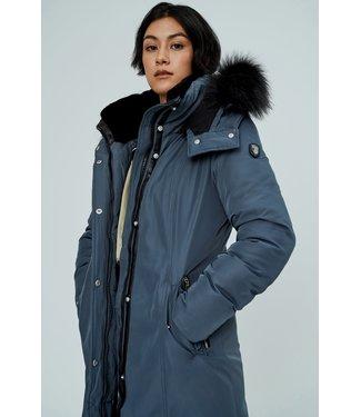 Noize Manteau d'hiver Femme Kristel Parka Moonstone/Navy | Kristel Woman Winter Parka Moonstone/Navy
