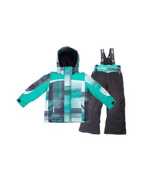 Noize Plaid Unisex Snowsuit