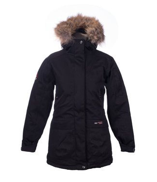 Misty Mountain Indigo Down Parka