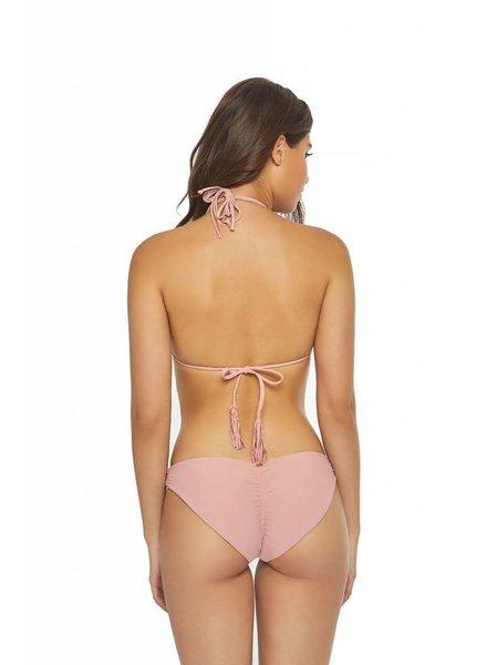 PilyQ Ruched Hipster Bikini Bottom