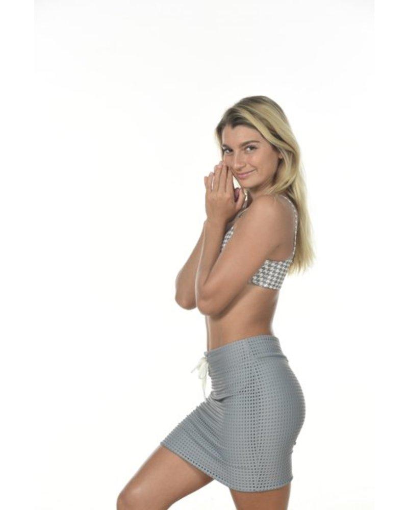 Paia Skirt Mesh Platinum