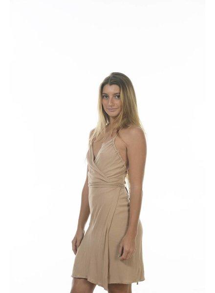 Indah Minette Dress Nude