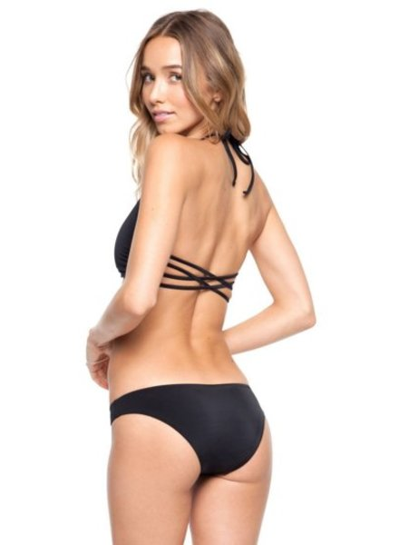 Tori Praver Isla Bottom Black