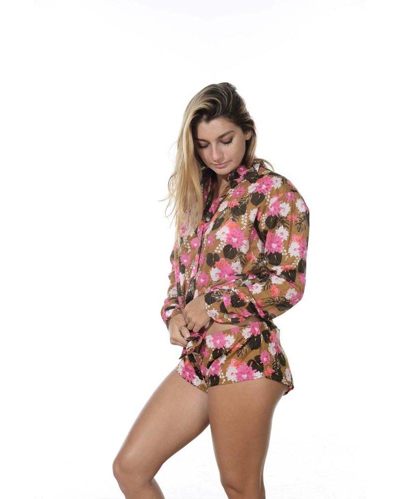 Olinda Pajama Set Lei Day