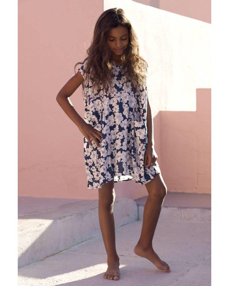 Honey Mana Dress Blue Magnolia