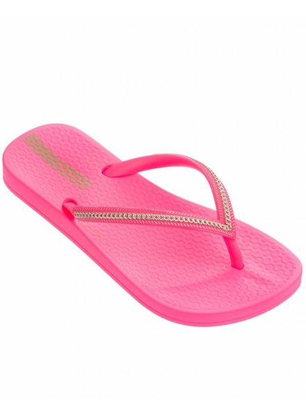 Ipanema Ana Metallic Kids Pink Neon