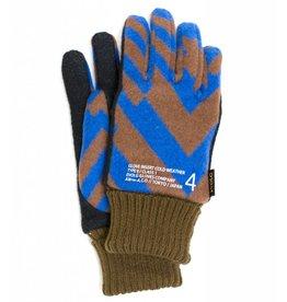 ed3fdf88232495 EVOLG evolg edge glove (cocoa x blue)