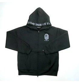 a3869072 BAPE bape ny18 full zip hoodie (black)