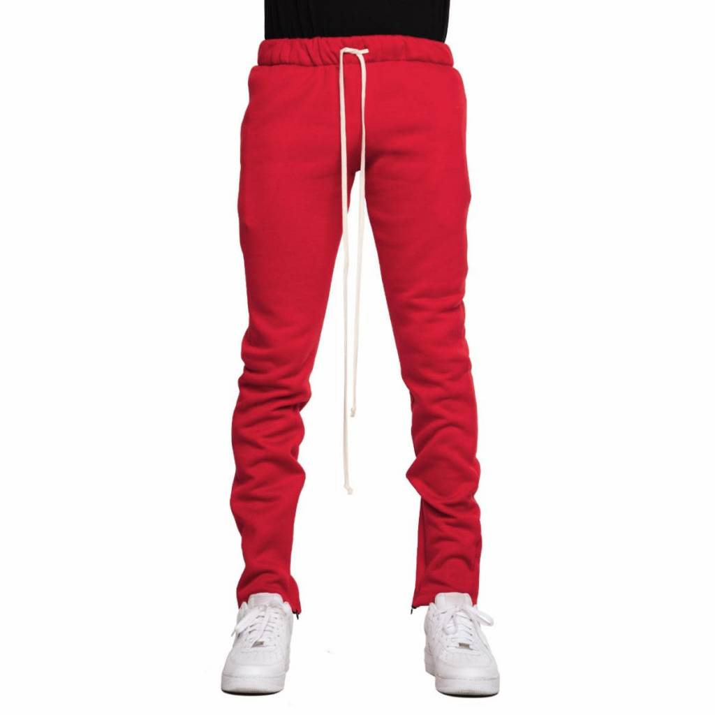 625e6385c1f09a eptm fleece zipper pants (red) - OSO:a style lab
