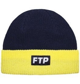 38fb99ebeff8a9 FTP ftp two tone logo beanie (navy)