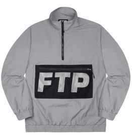 696096ece532ed FTP ftp mesh pocket half zip (grey)