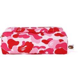 710661089813c6 BAPE bape abc flight pouch (pink)