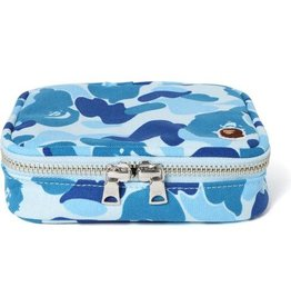 0641b8fb1ff8e5 BAPE bape abc amenity pouch (blue)