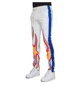 bc27b0dc161b44 EPTM eptm flame sublimation track pants (wht/royal)