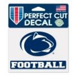 WinCraft, Inc. Perfect Cut Decal Football
