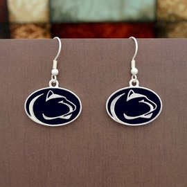 PSU Lion Head Earrings