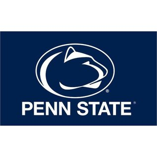 Sewing Concepts Penn State Navy Flag with White Lion Head 3x5