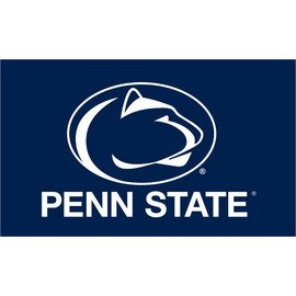 "Sewing Concepts Penn State Desk Flag Navy with White Lion Head 4""x6"""