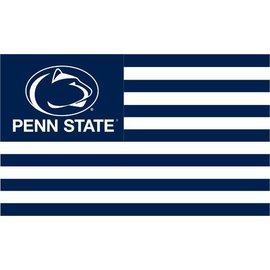Sewing Concepts Stripe Style Penn State Flag 3x5
