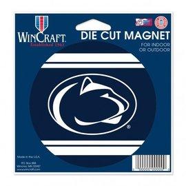 """WinCraft, Inc. Die Cut Magnet 4.5"""" x 6"""" Round w/ Stripes"""