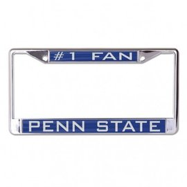 WinCraft, Inc. Penn State #1 Fan License Plate Frame