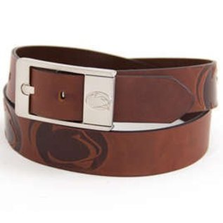 Eagles Wings Penn State Leather Belt