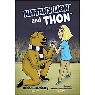 Denise Kaminsky Nittany Lion and THON